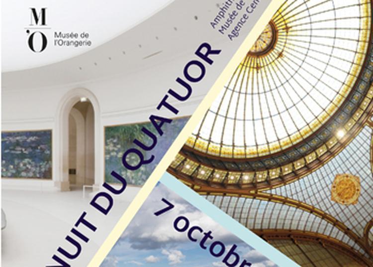 Nuit du Quatuor 2017 à Paris 9ème