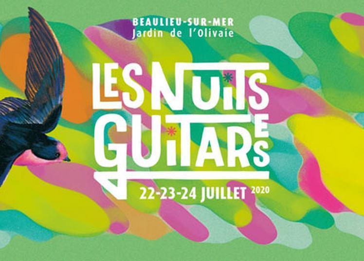 Nuits Guitares 2020 à Beaulieu sur Mer