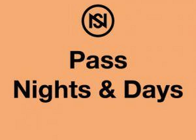 Nuits Sonores - Pass Nights & Days à Lyon