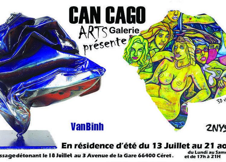 2nyss & VanBinh en résidence d'été à Ceret