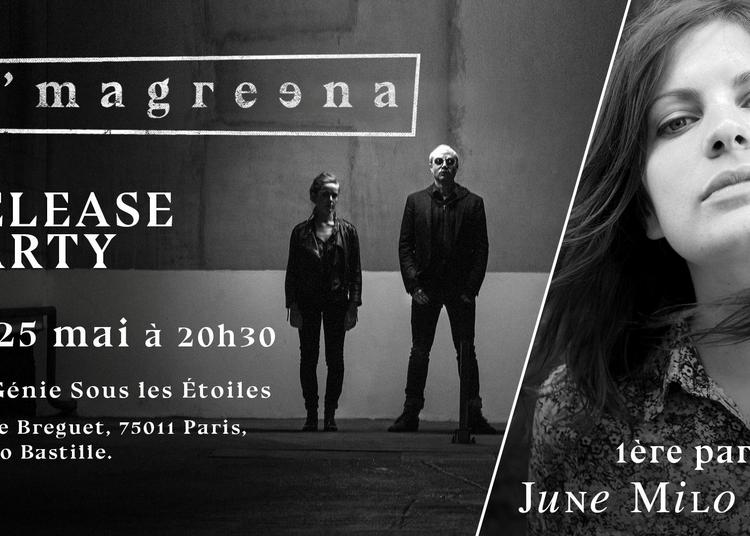 O'magreena Release Party à Paris 11ème