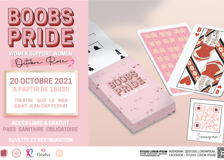Octobre Rose - Boobs Pride 2021