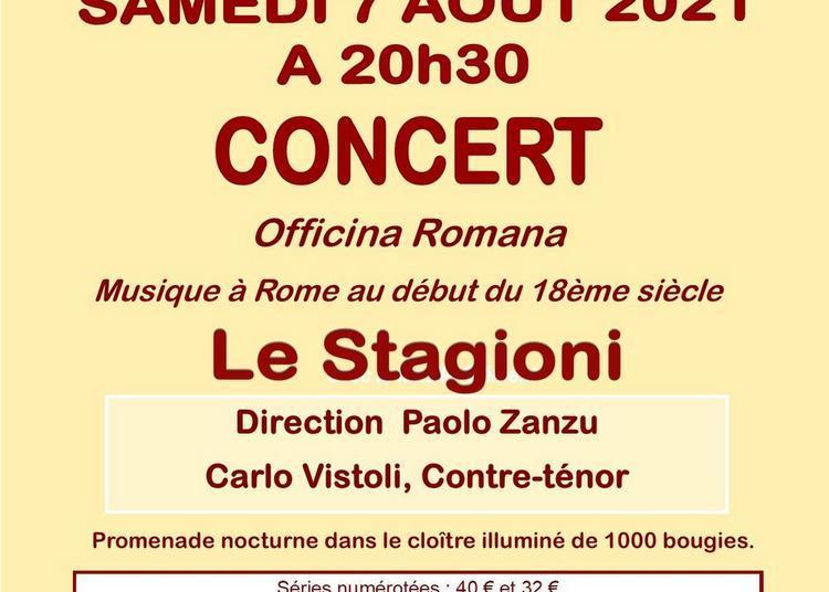 Officina Romana musique à Rome au début du 18è siècle à Marmagne
