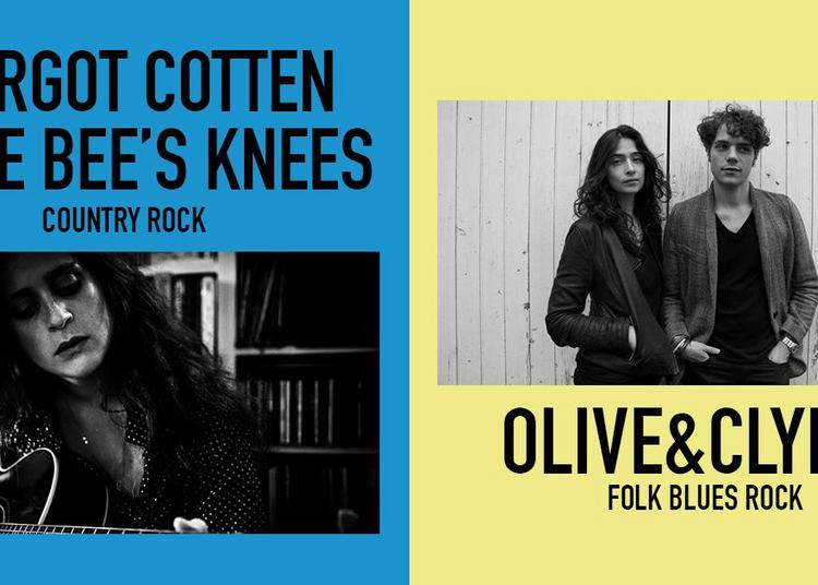 Olive&clyde Et Margot Cotten & The Bee's Knees à Paris 11ème