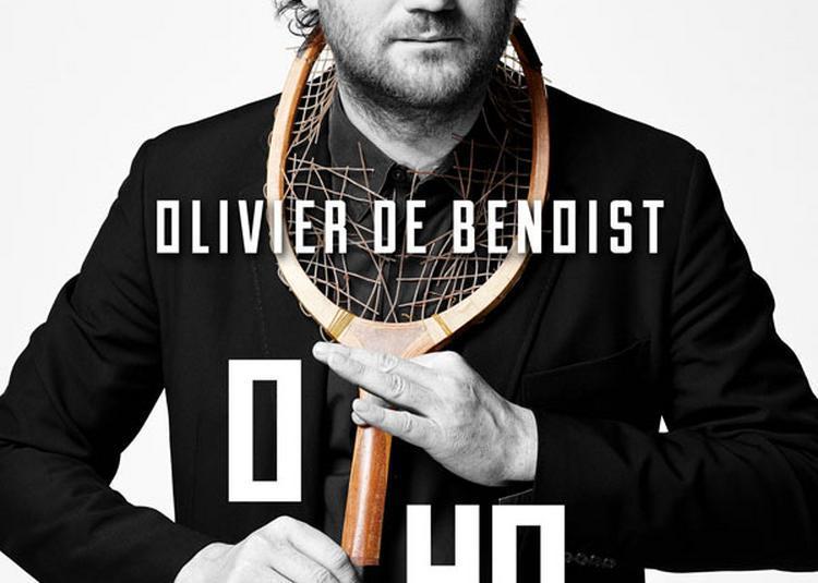 Olivier De Benoist+Plateau Humour à Troyes