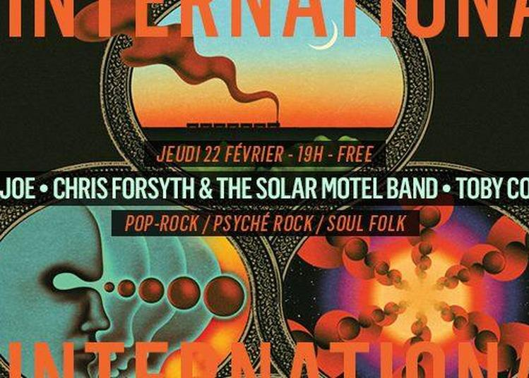 Ollie Joe - Chris Forsyth & The Solar Motel Band - Toby Connor à Paris 11ème