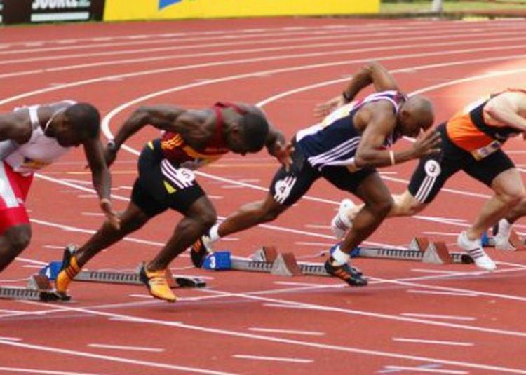Olympicorama - Le 400 mètres à Amiens