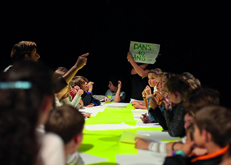 On inventera le titre demain, un spectacle d'avenir dont les enfants sont les héros à Givors