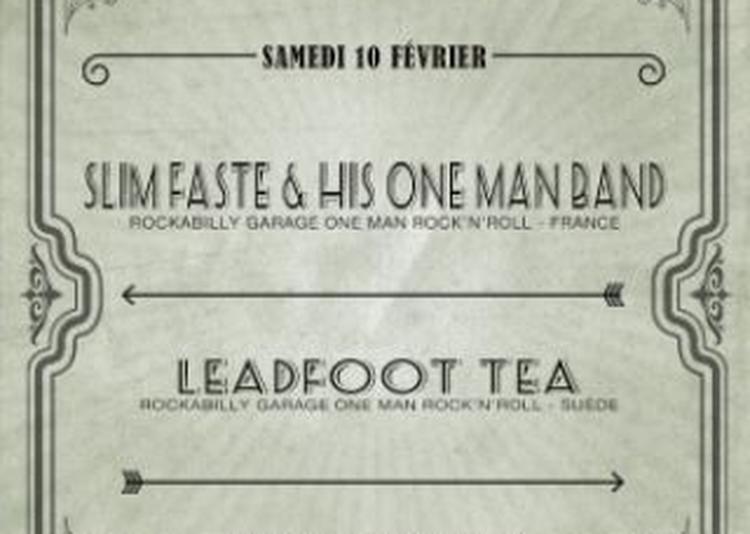 ONE MAN BAND FESTIVAL #5 : SLIM FATE Leadfoot Tea WildShepherd à Saint Jean de Vedas
