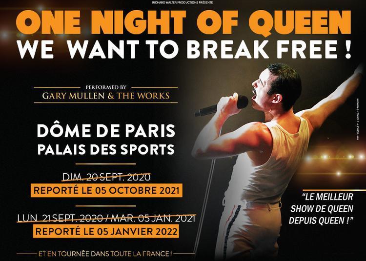 One Night Of Queen à Paris 15ème