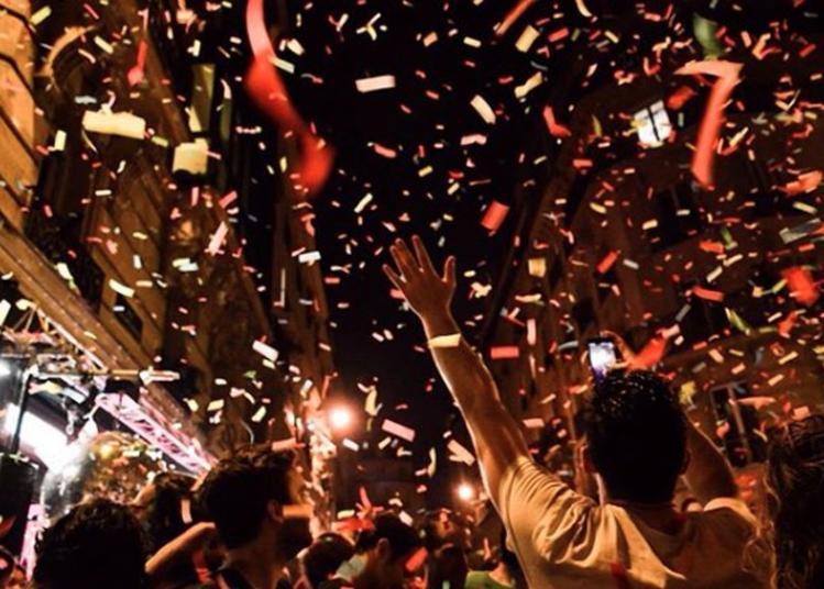 Open Air : Vendredi C'est Confettis ! à Paris 18ème