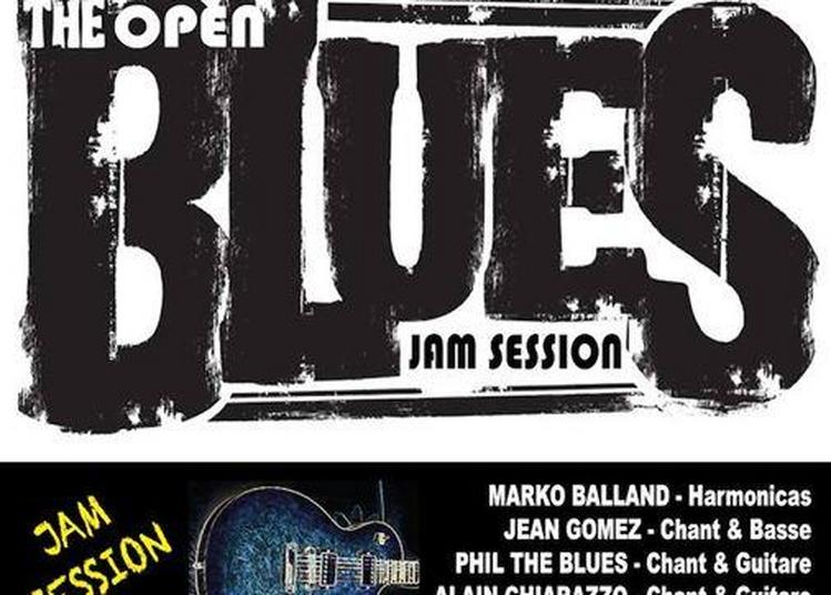Open Blues Jam Session à Marseille