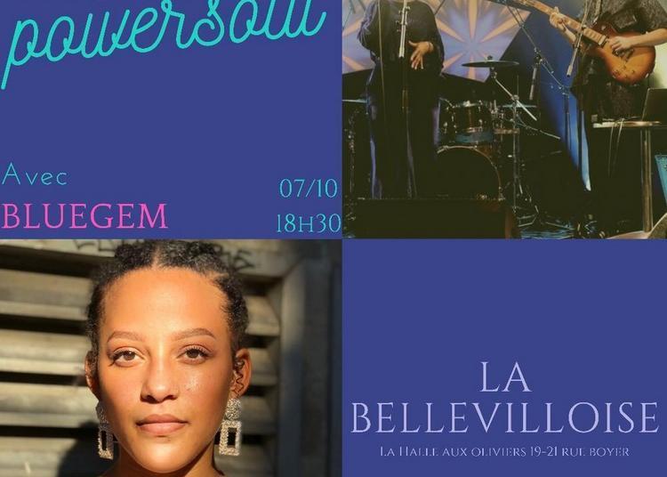 Open Mic Power Soul Invite Bluegem à Paris 20ème