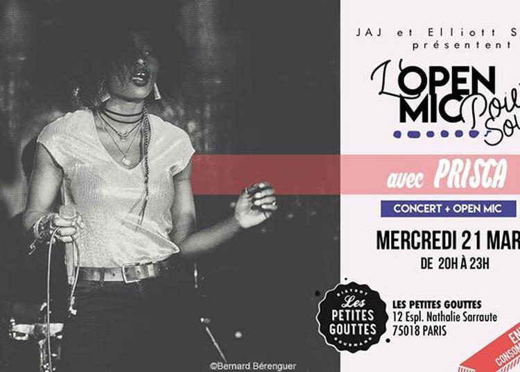 Open Mic Power Soul: Prisca à Paris 18ème