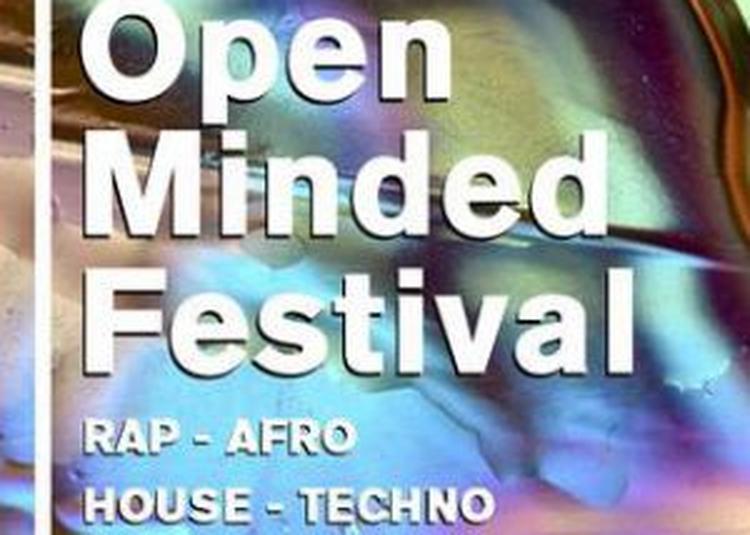 Open Minded Festival : Pass Soirée + After à Paris 19ème
