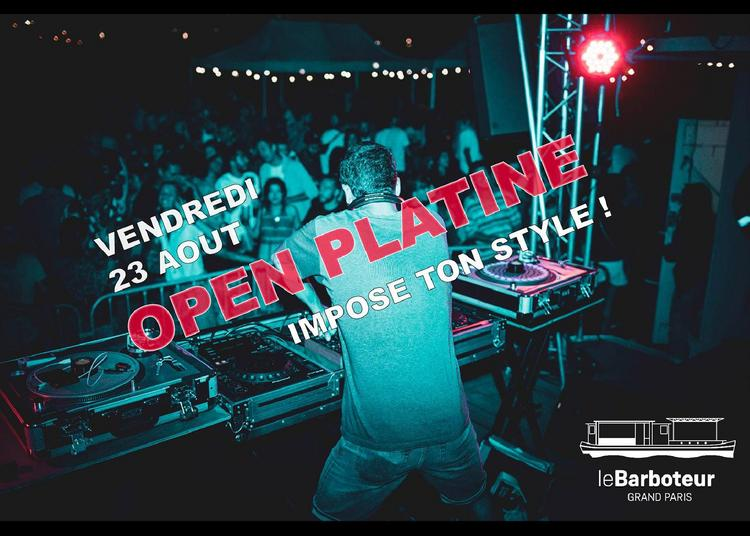Open Platine à Paris 19ème