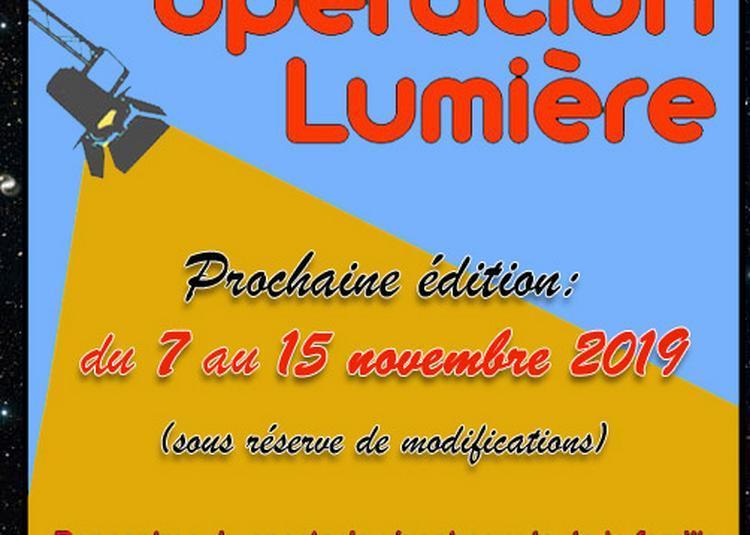 Opération Lumière (Rencontres du spectacle vivant en familles) 2019
