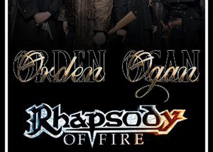 Orden Ogan + Rhapsody Of Fire à Paris 13ème