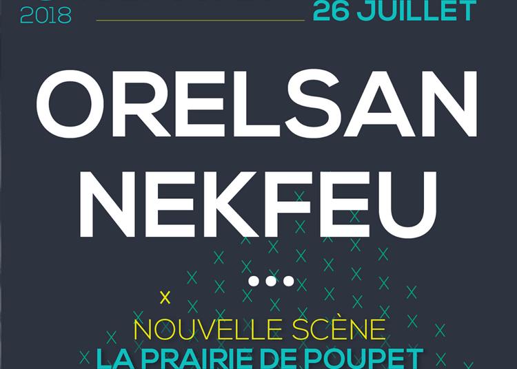 Orelsan et Nekfeu à Saint Malo du Bois