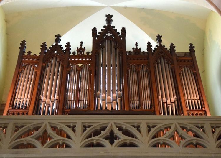 Orgue De L'église Saint Henri à Le Creusot