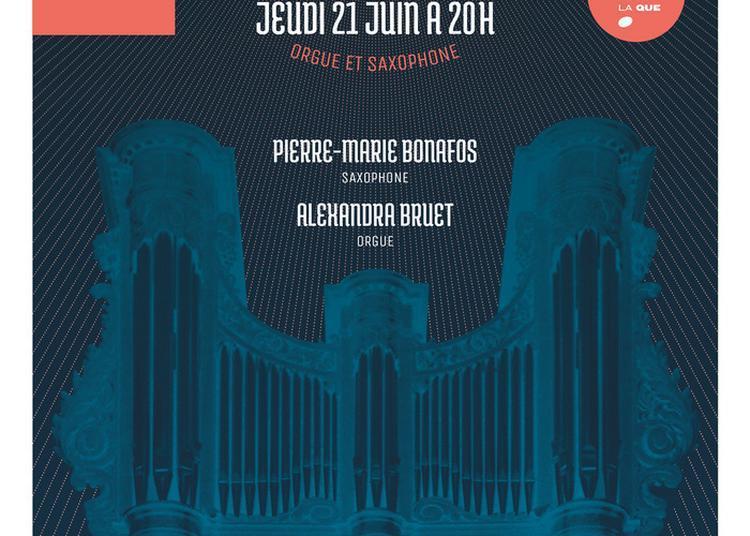 Orgue Et Saxophone à Paris 8ème