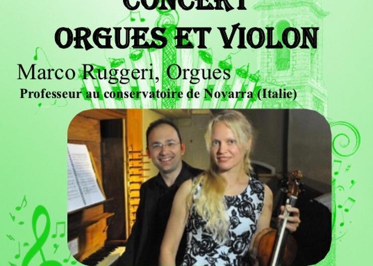 «Orgue et Violon » à Nice