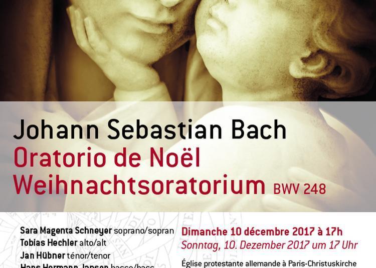 Oratorio de Noël - JS Bach à Paris 9ème