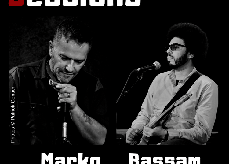 Original Blues Session : Marko Balland & Bassam Bellman à Paris 14ème