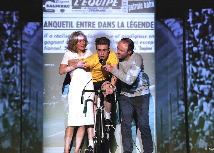 Anquetil tout seul à Plouasne