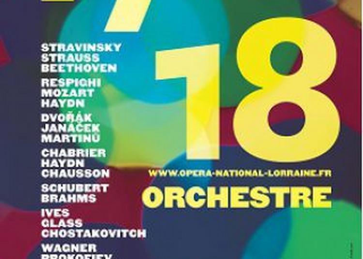 OSLN 4 Chabrier, Haydn, Chausson à Nancy