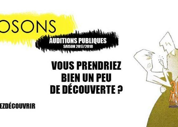 Osons - Auditions Publiques à Toulouse