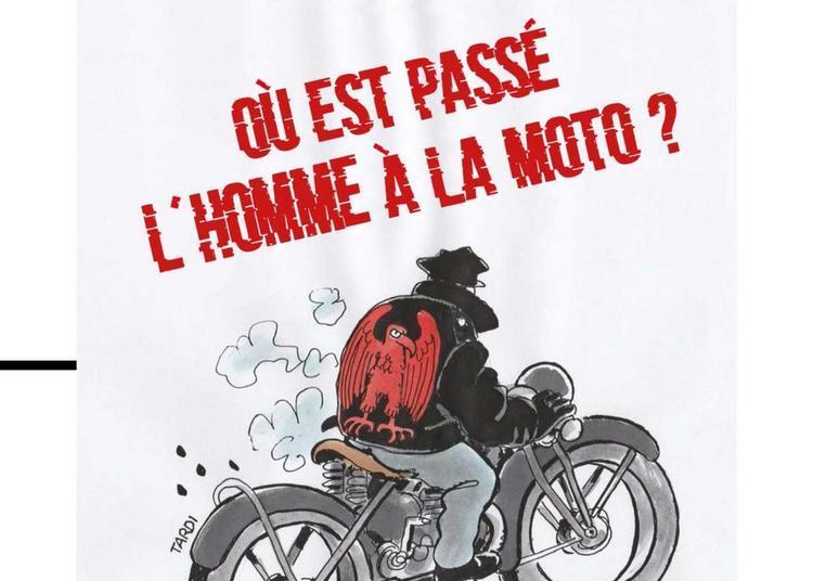 Où est passé l'homme à la moto ? à Paris 14ème