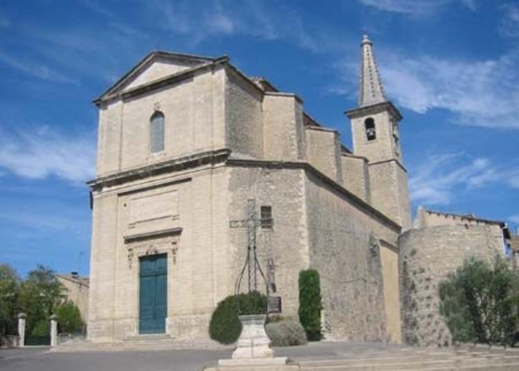 Ouverture De L'eglise Paroissiale De Saint Symphorien à Caumont sur Durance