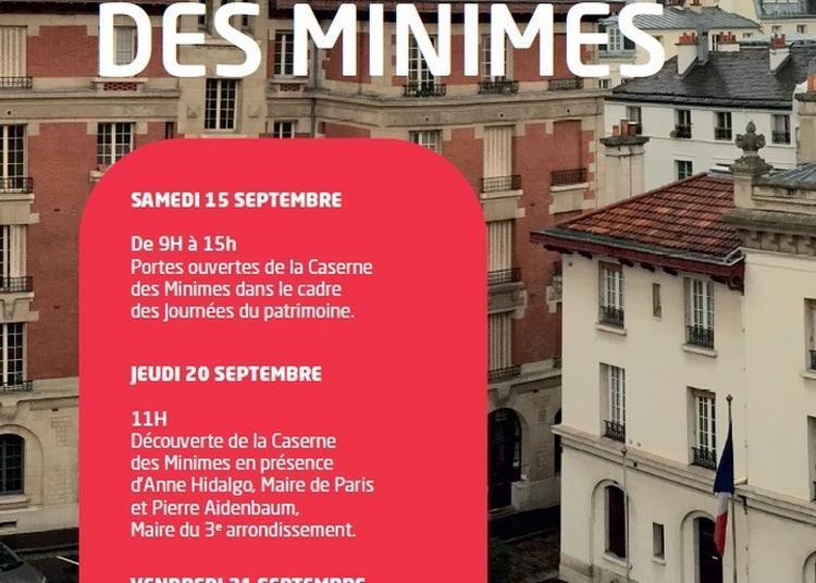 Ouverture De La Caserne Des Minimes à Paris 3ème