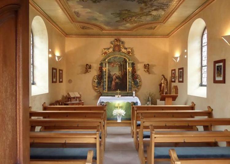 Ouverture De La Chapelle Sainte-anne à Chatenois