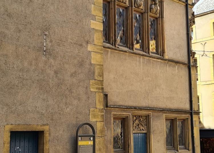 Ouverture De La Maison D'un Riche Orfèvre Messin De La Fin Du Moyen Âge à Metz