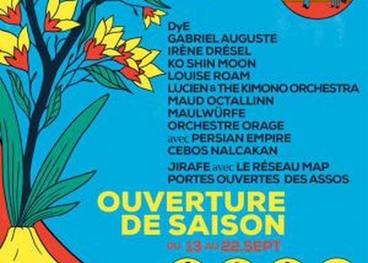 Ouverture De Saison : Dye + Orchestre Orage & Persian Empire à Paris 18ème