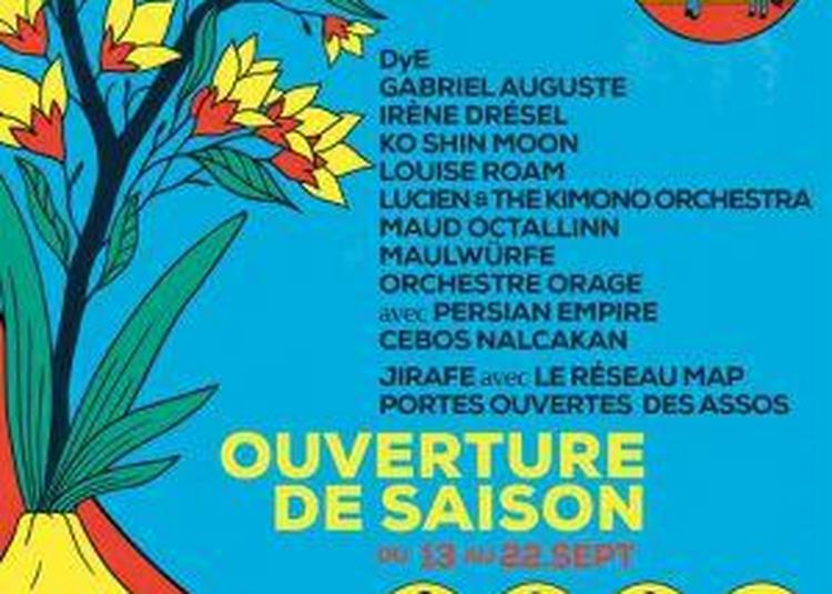 Ouverture De Saison : Ko Shin Moon + Maud Octallinn à Paris 18ème