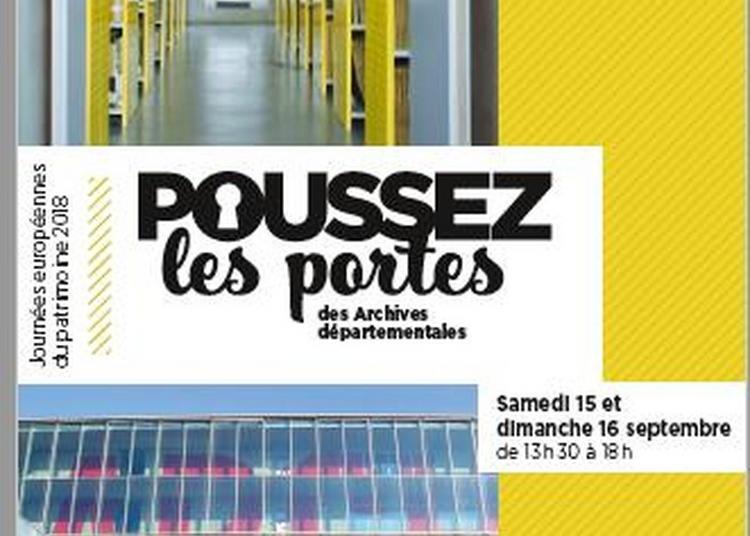 Ouverture Des Portes Des Archives Départementales D'ille-et-vilaine à Rennes