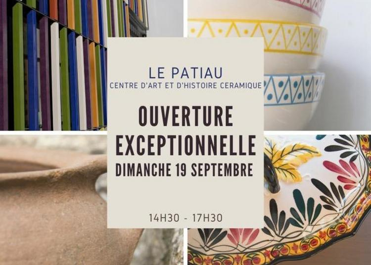 Ouverture Exceptionnelle Du Patiau à Saint Jean la Poterie