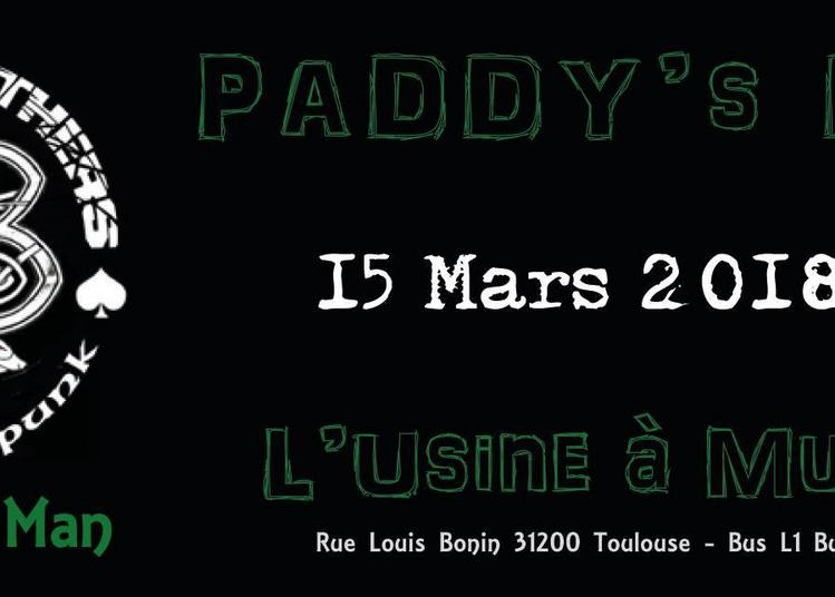 Paddy's day à l'usine à Toulouse