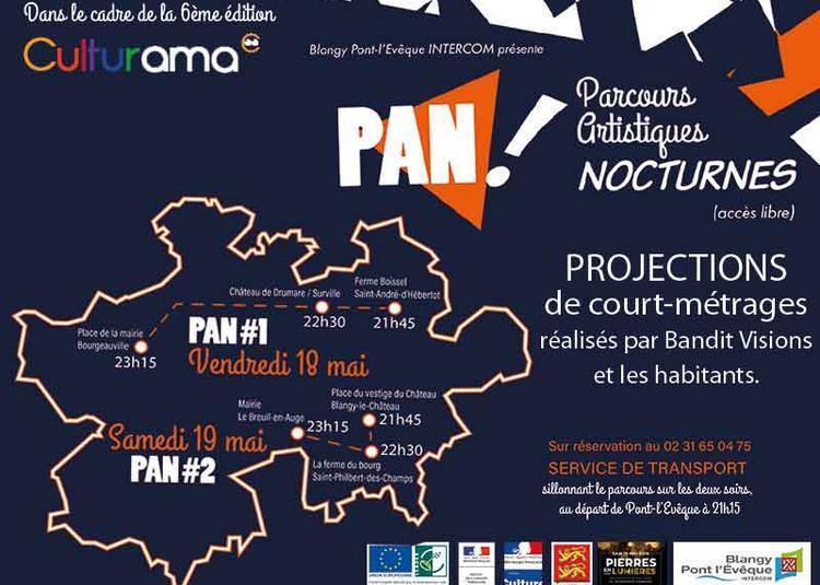 Pan ! parcours artistiques nocturnes à Pont l'Eveque
