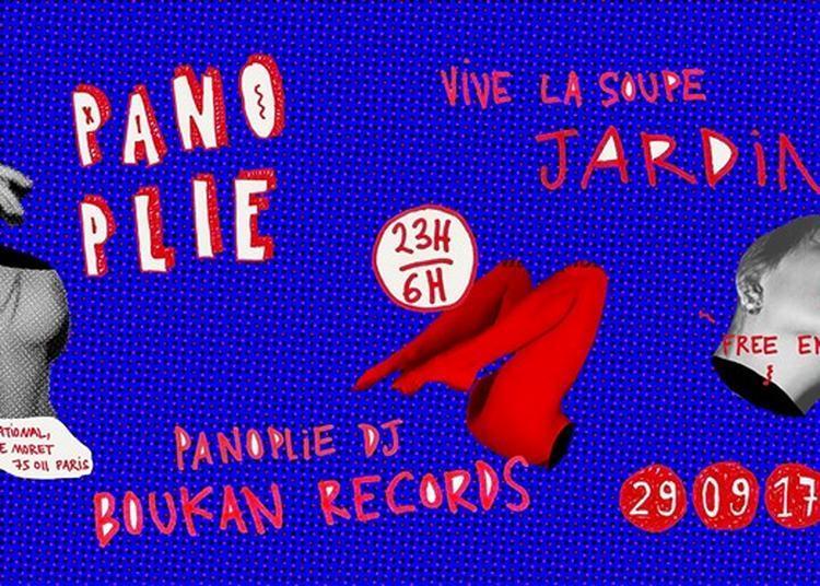 Panoplie #1 : Jardin - Boukan Records à Paris 11ème
