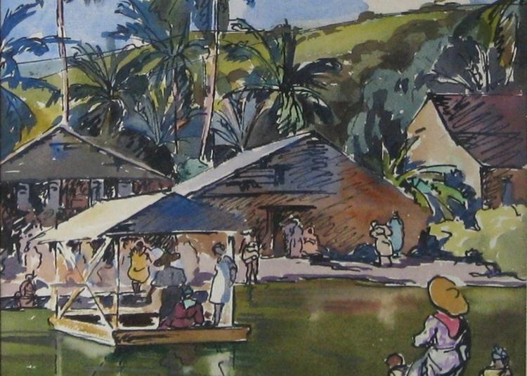 Panorama Des Beaux-arts Du Xvie Siècle à Nos Jours Privilégiant Les Artistes Liés à La Guadeloupe. Peintures, Sculptures, Dessins. à Saint Francois