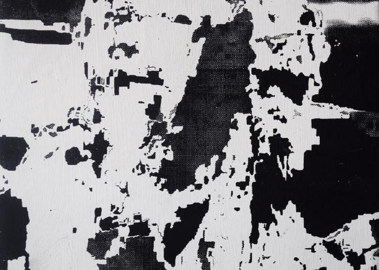 Panta rhei // Ilies Issiakhem Peintures // Focus - En résonance avec la Biennale de Lyon