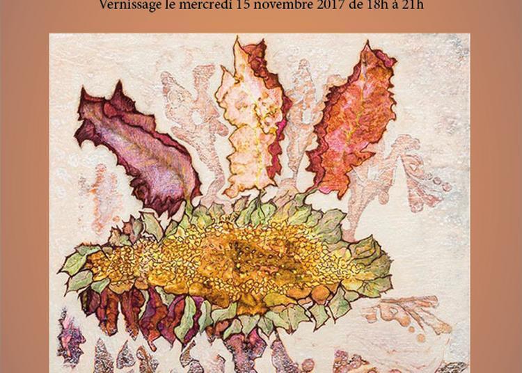 'Papiers Rouillés', exposition de Martine Le Normand à l'entrepôt à Paris 14ème