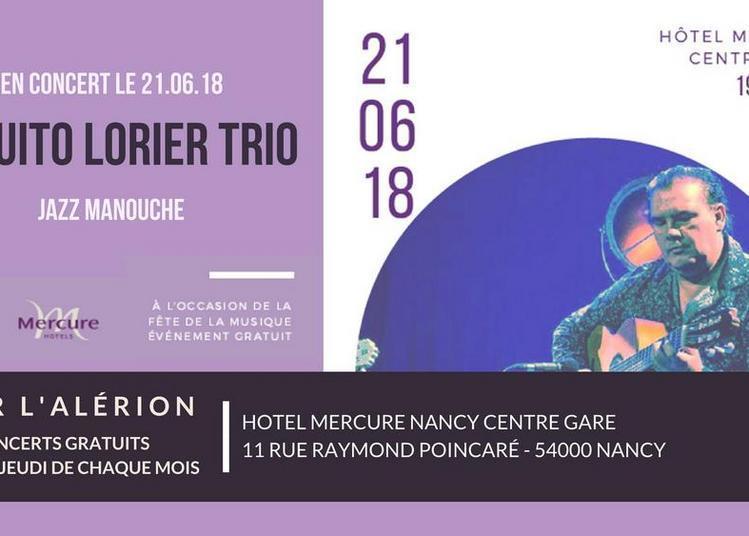 Paquito Lorier Trio (Fête de la Musique) à Nancy