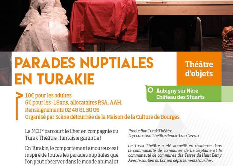 Parades Nuptiales en Turakie à Aubigny sur Nere