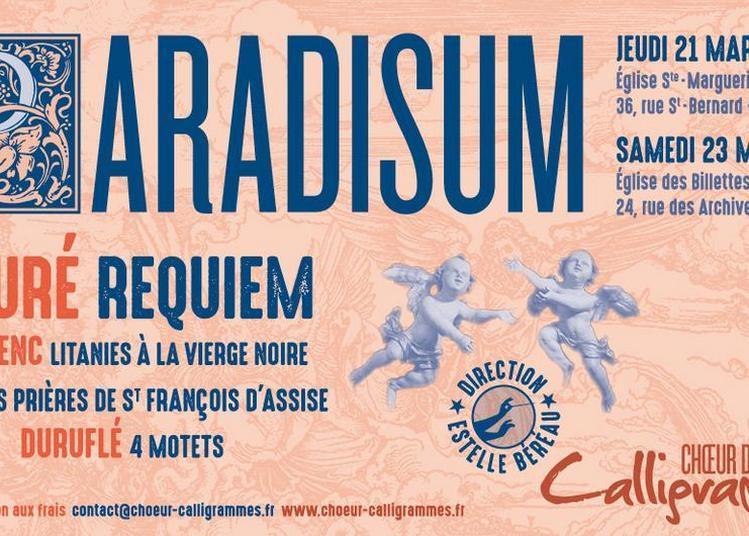 Paradisum - Fauré, Poulenc, Duruflé à Paris 4ème