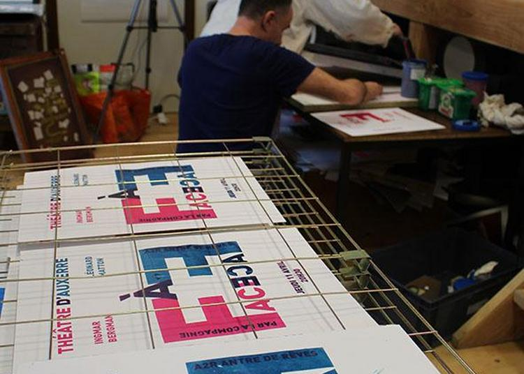 Parcours Arts graphiques et sérigraphie : stages de création à Auxerre